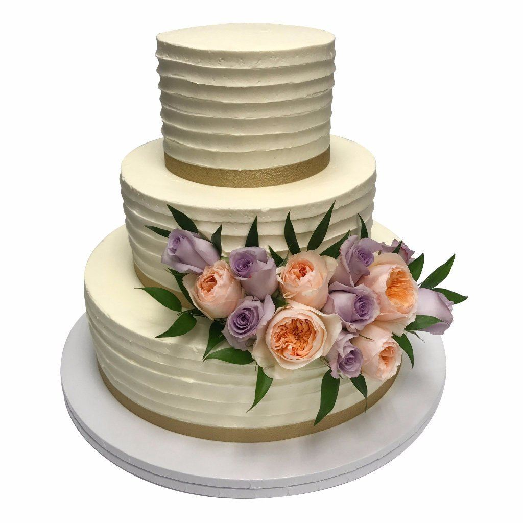 Endless Roses Wedding Cake Freed's Bakery