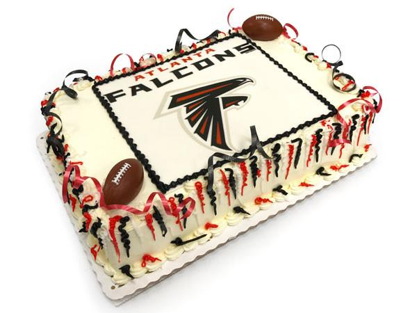 Big Game Falcons Cake Freed's Bakery