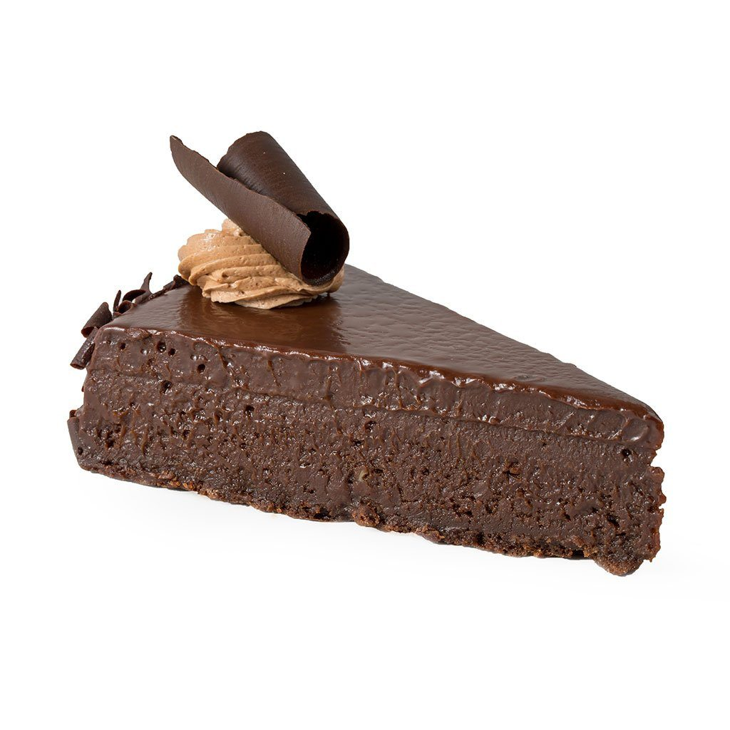 Chocolate Flourless Torte Cake Slice & Pastry Freed's Bakery