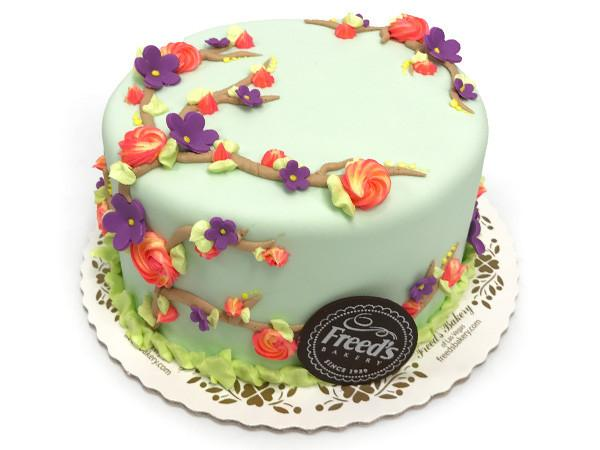 Spring Flower Cake Decorating Class Event Freed's Bakery