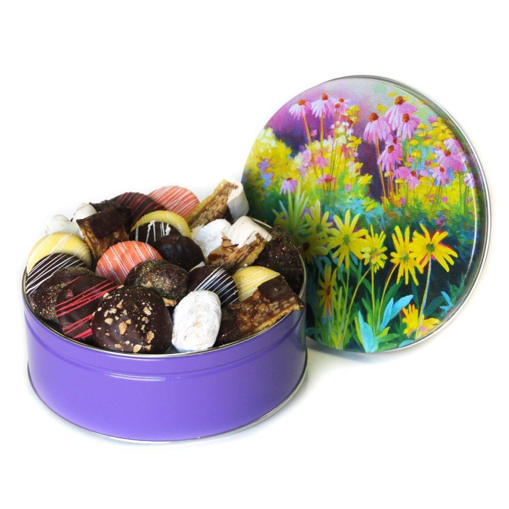 Field of Flowers Cookie Tin