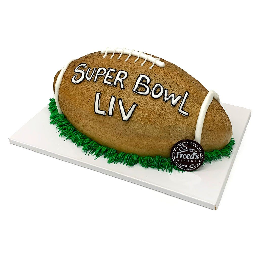 Football Interception Treats for the Big Game Freed's Bakery
