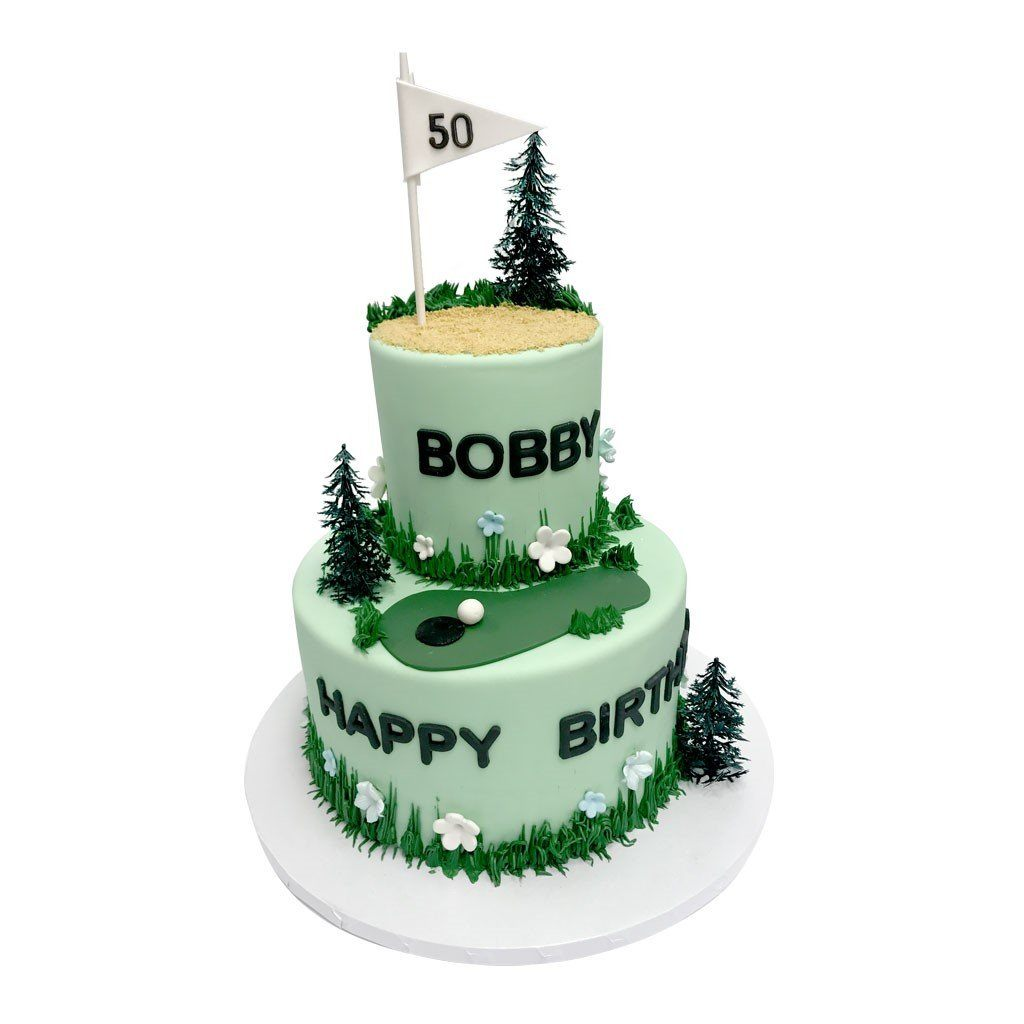 Fore Theme Cake Freed's Bakery