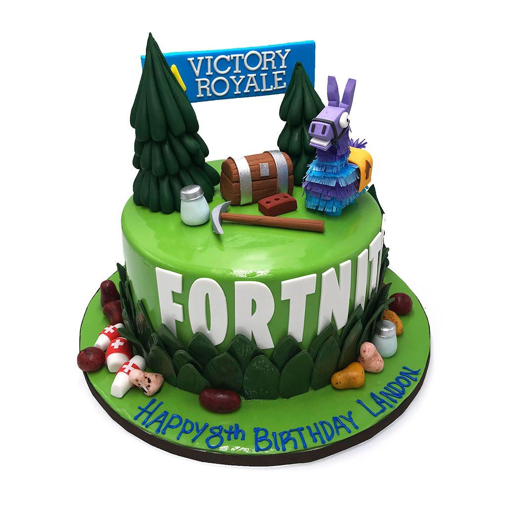 Victory Royale Theme Cake Freed's Bakery