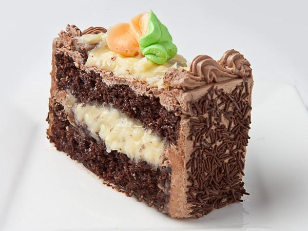 German Chocolate Cake Slice Cake Slice & Pastry Freed's Bakery
