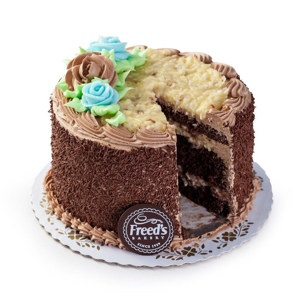 German Chocolate (Nationwide Shipping) Cake Shipping Freed's Bakery