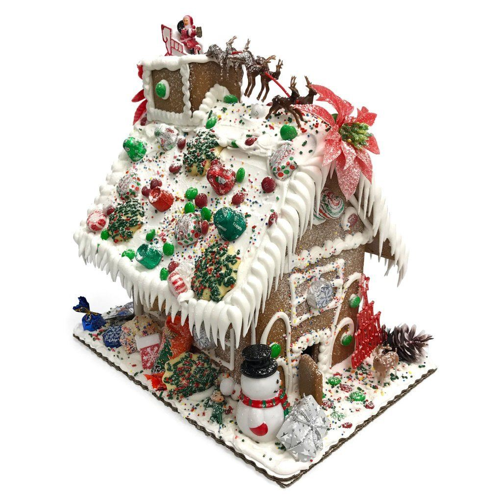 Gingerbread House Holiday Item Freed's Bakery Large Gingerbread House