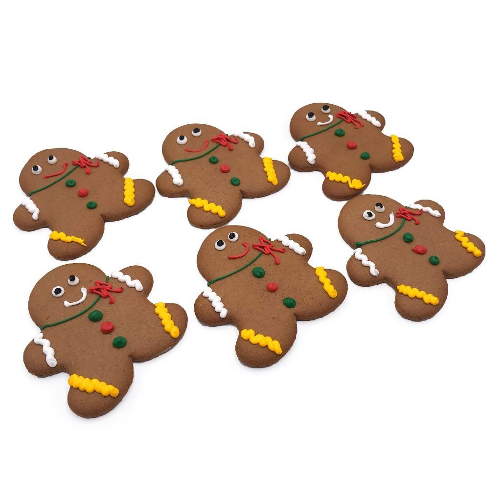 Gingerbread Men Holiday Item Freed's Bakery
