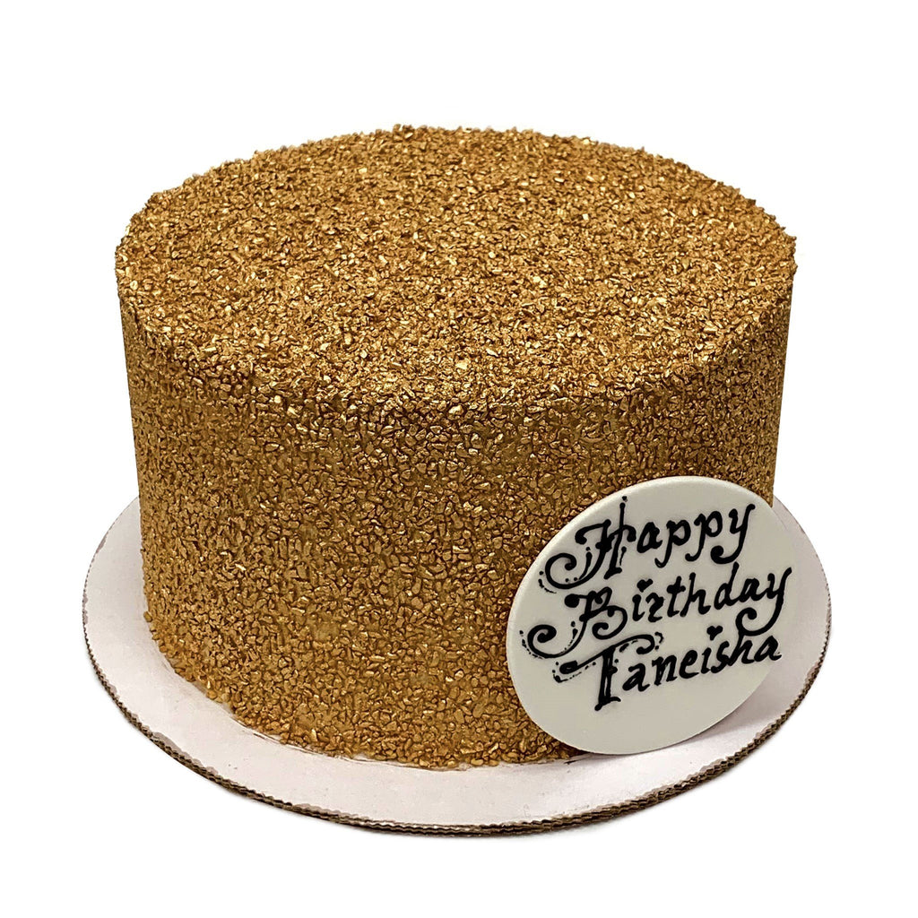 Gold Nugget Theme Cake Freed's Bakery