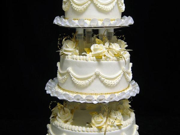 Golden Wedding Traditions Wedding Cake Freed's Bakery