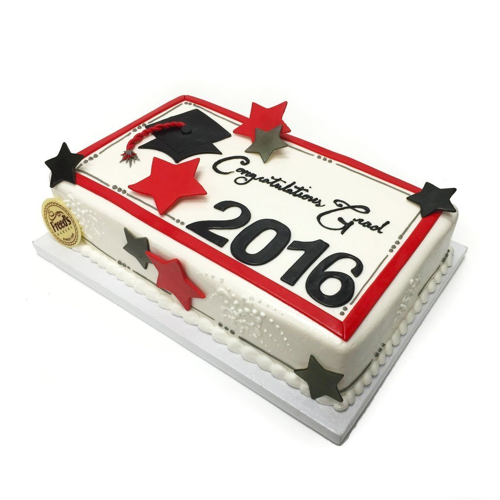 Graduate Celebration Theme Cake Freed's Bakery