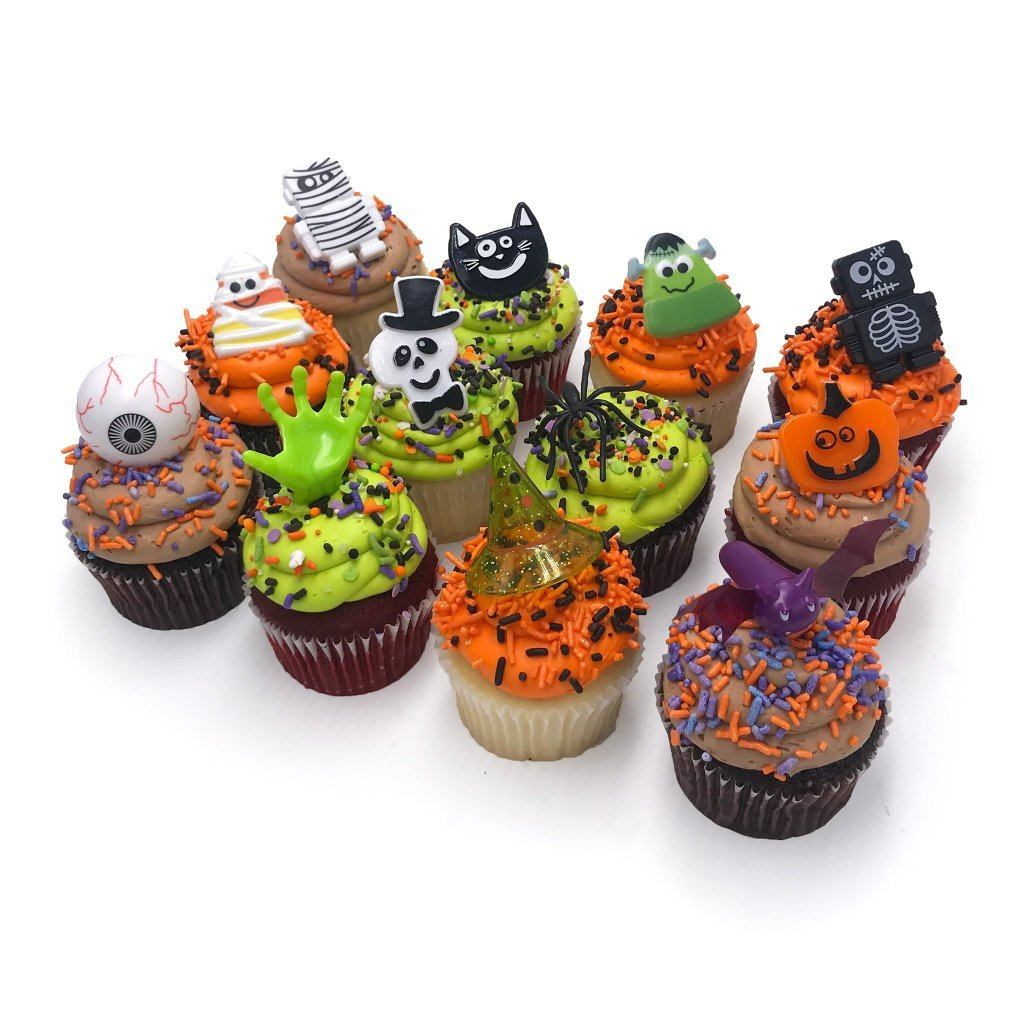 Halloween Cupcakes Cupcake Freed's Bakery