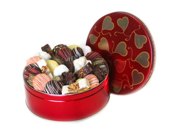 Sweet Hearts Cookie Tin Cookie Tin Freed's Bakery