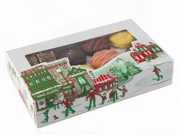 Half Pound Holiday Box Cookie Assortment Holiday Item Freed's Bakery
