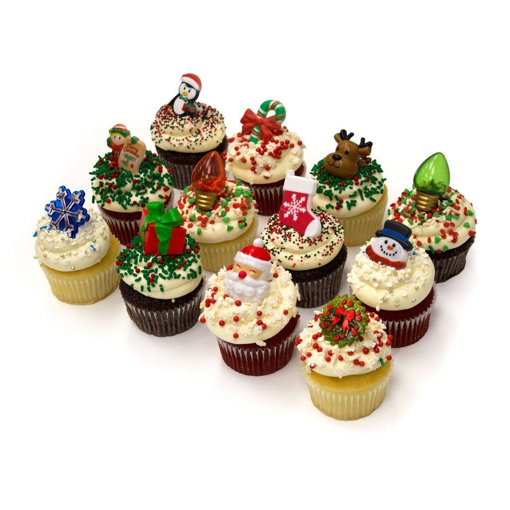 Holiday Cupcakes Cupcake Freed's Bakery