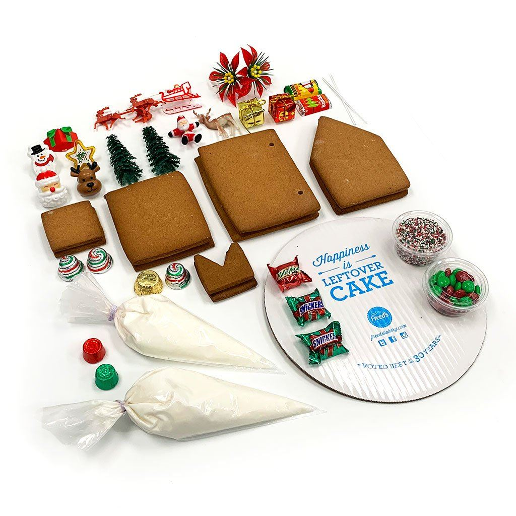Freed's Gingerbread House Kit Cookie Freed's Bakery