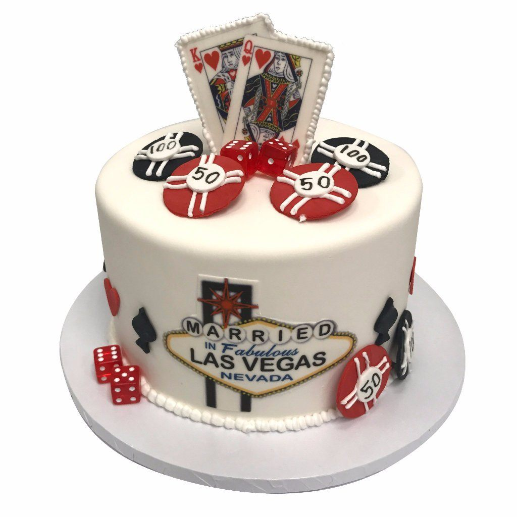 Royal Vegas Theme Cake Freed's Bakery