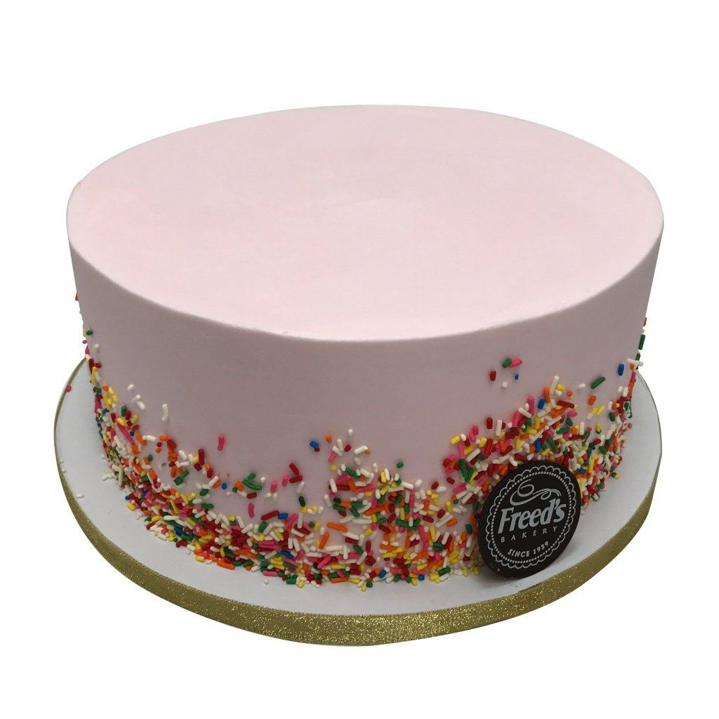 Sprinkle Perfection Cake Freed's Bakery