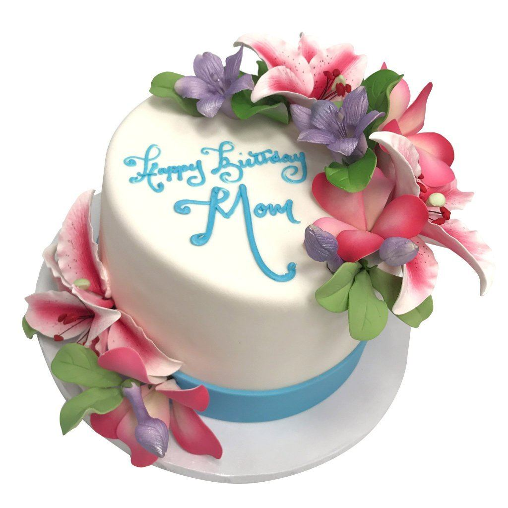 Flowers for Jessica Theme Cake Freed's Bakery