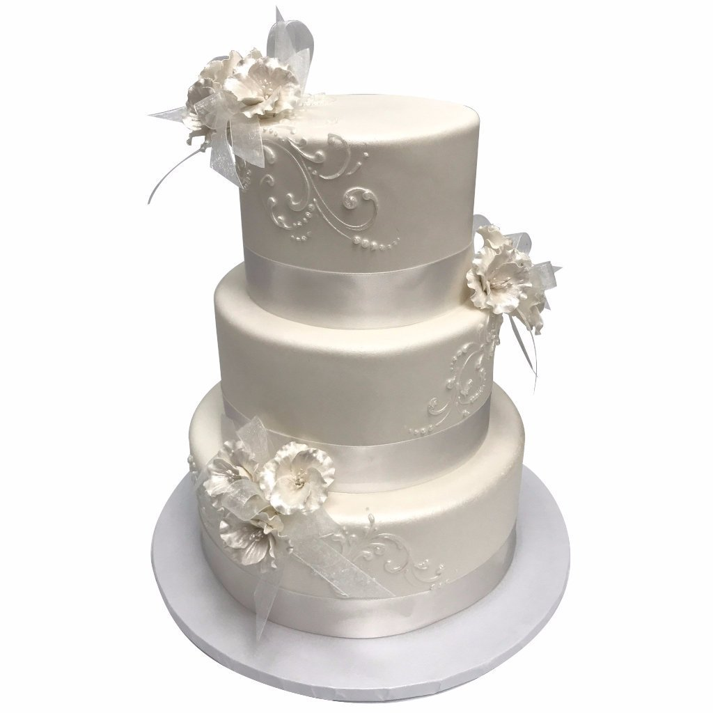 Simply Stunning Wedding Cake Freed's Bakery