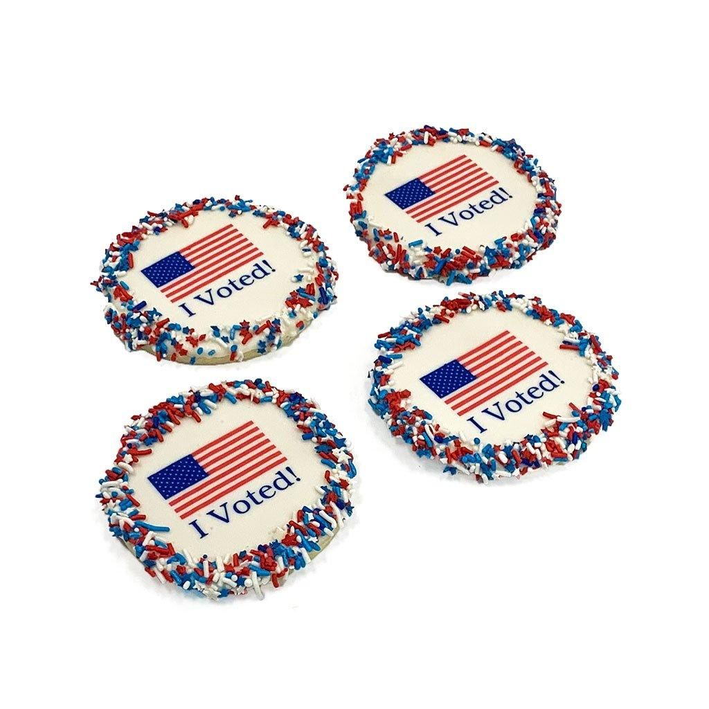 I Voted Cookie Cutout Cookie Freed's Bakery