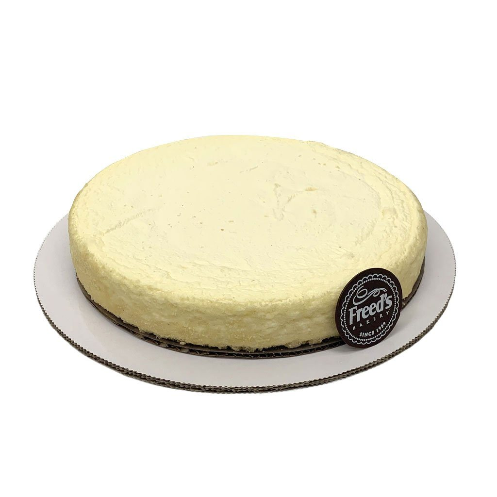 "Low-Carb Keto Cheesecake Cake Slice & Pastry Freed's Bakery 10"" Round (Serves 10-15)"