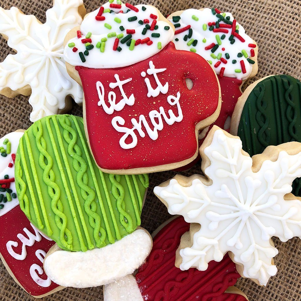 Christmas Cookies & Cocktails Class at Khoury's Event Freed's Bakery