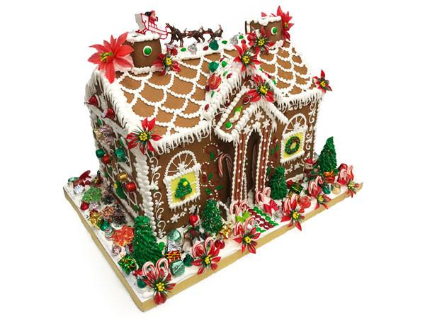 Giant Gingerbread House Holiday Item Freed's Bakery