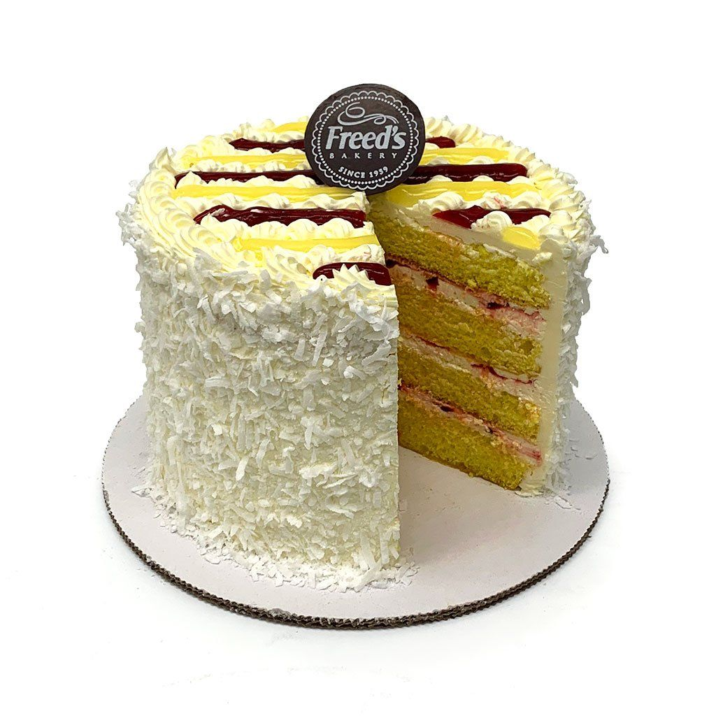 Lemon Breeze Cake Slice Cake Slice & Pastry Freed's Bakery