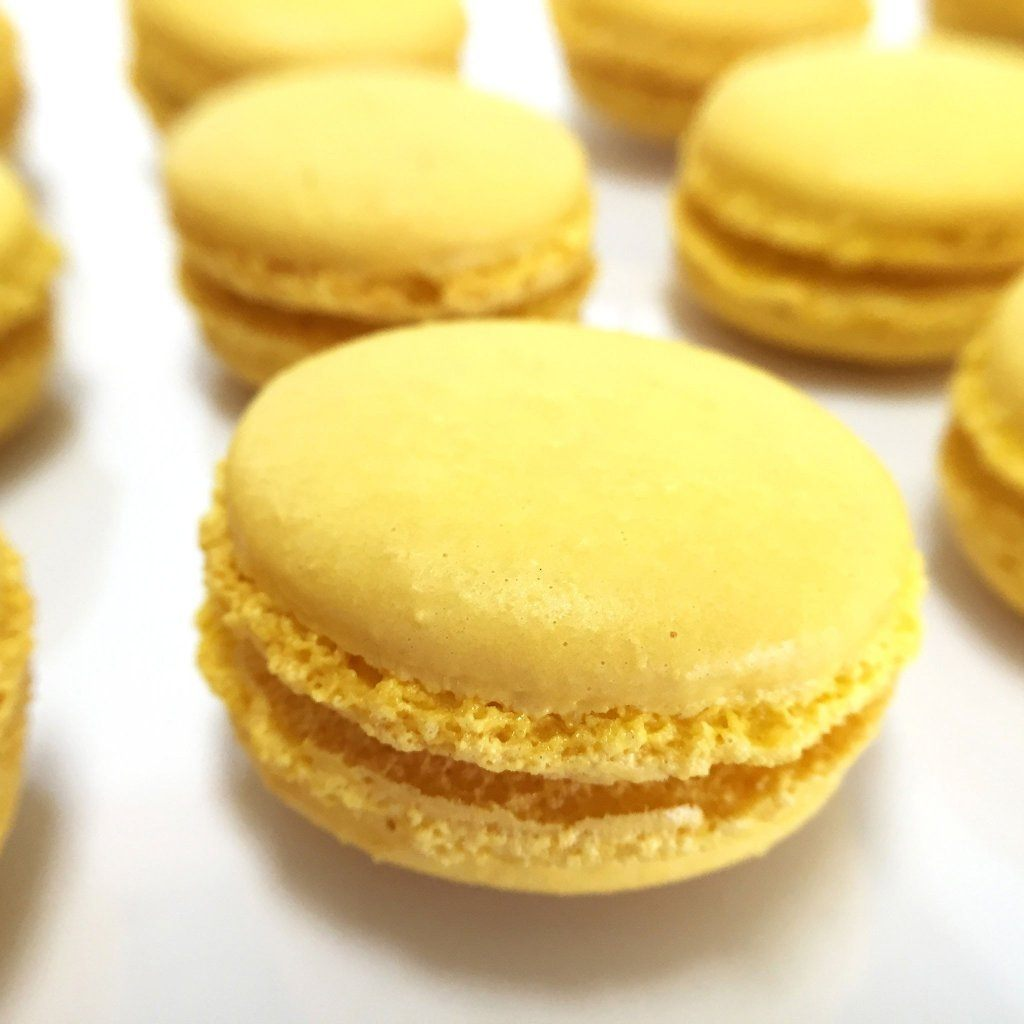 Lemon French Macaron French Macaron Freed's Bakery