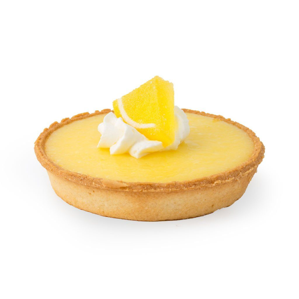 Lemon Tart Cake Slice & Pastry Freed's Bakery