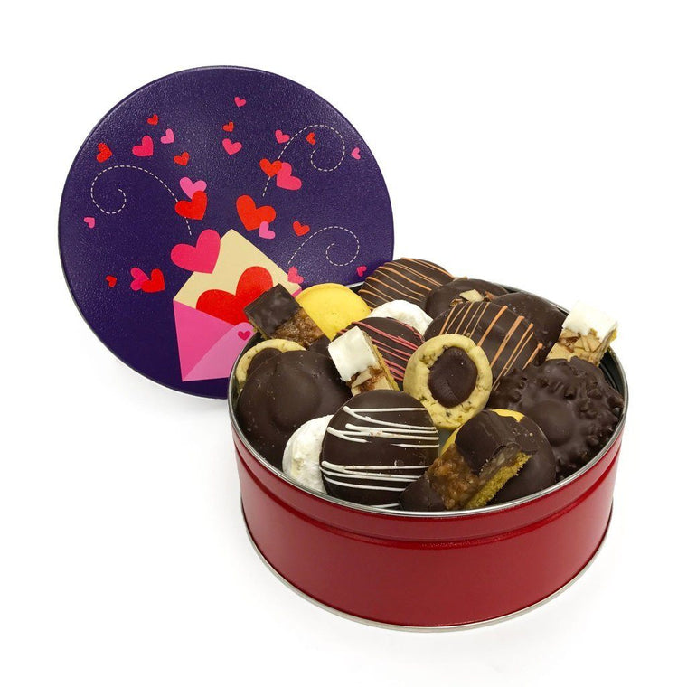 Love Letters Cookie Tin