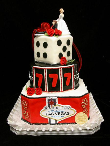 Lucky Black Wedding Cake Freed's Bakery