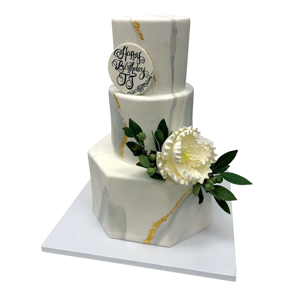 Luxury Marble Wedding Cake Freed's Bakery