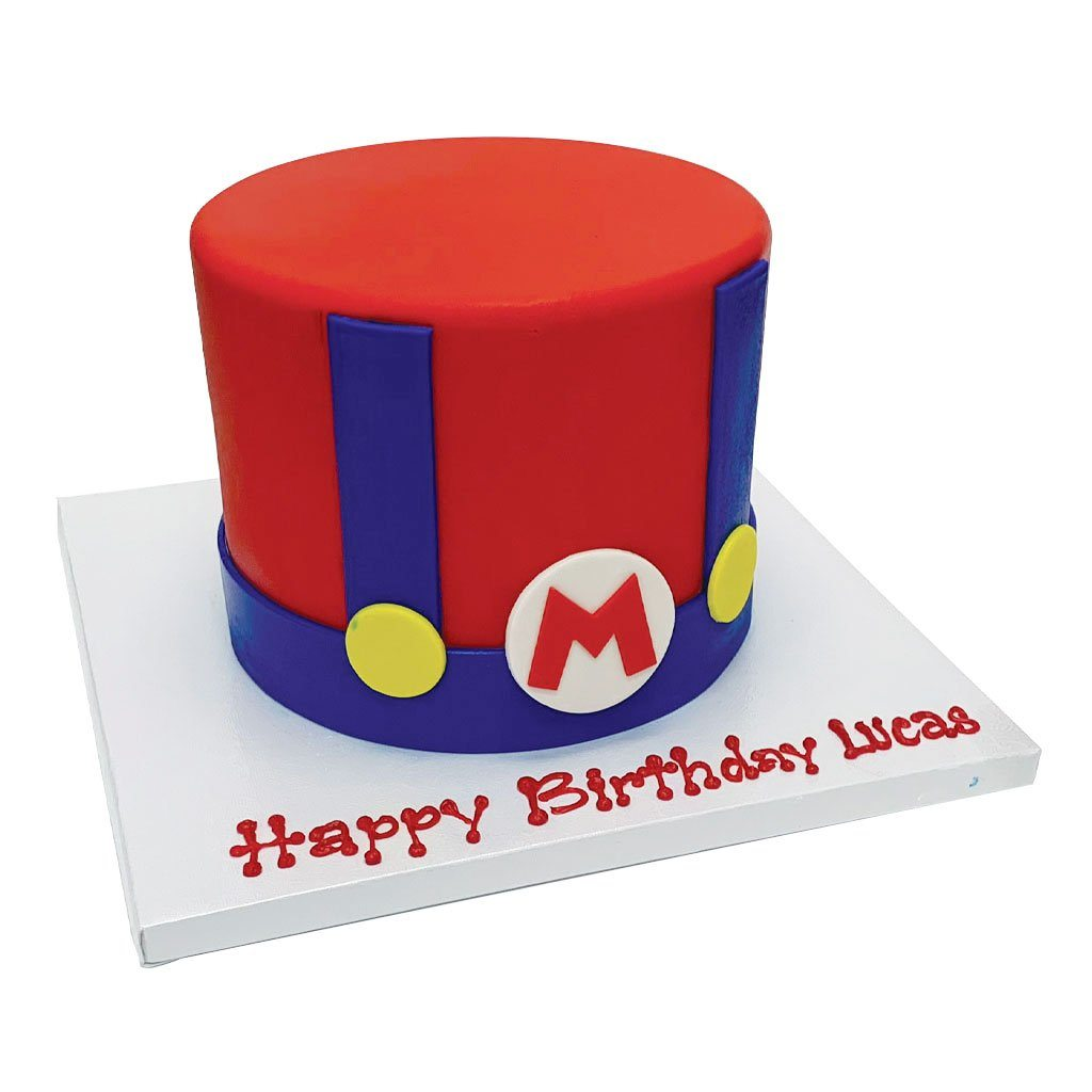 It's a-me! Birthday Cake Theme Cake Freed's Bakery