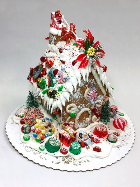Gingerbread House Holiday Item Freed's Bakery Small Gingerbread House