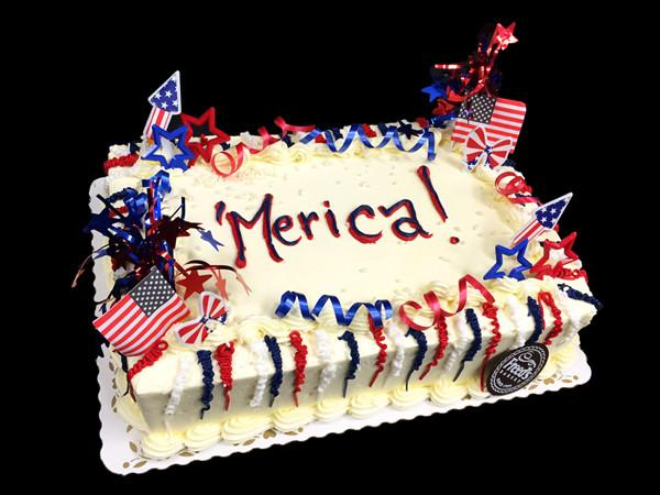 Cakemerica 4th of July Freed's Bakery
