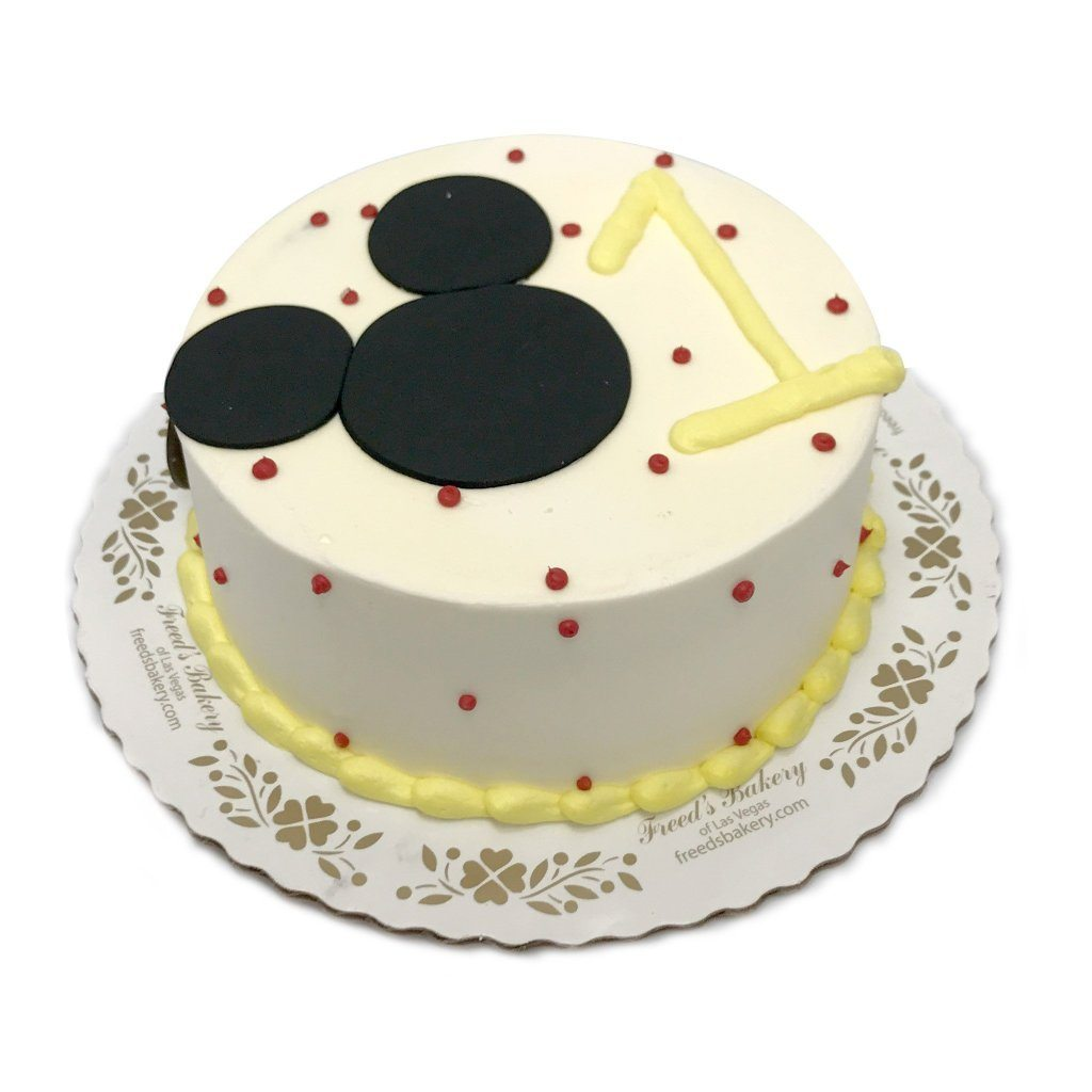 Mickey Birthday Smash Theme Cake Freed's Bakery