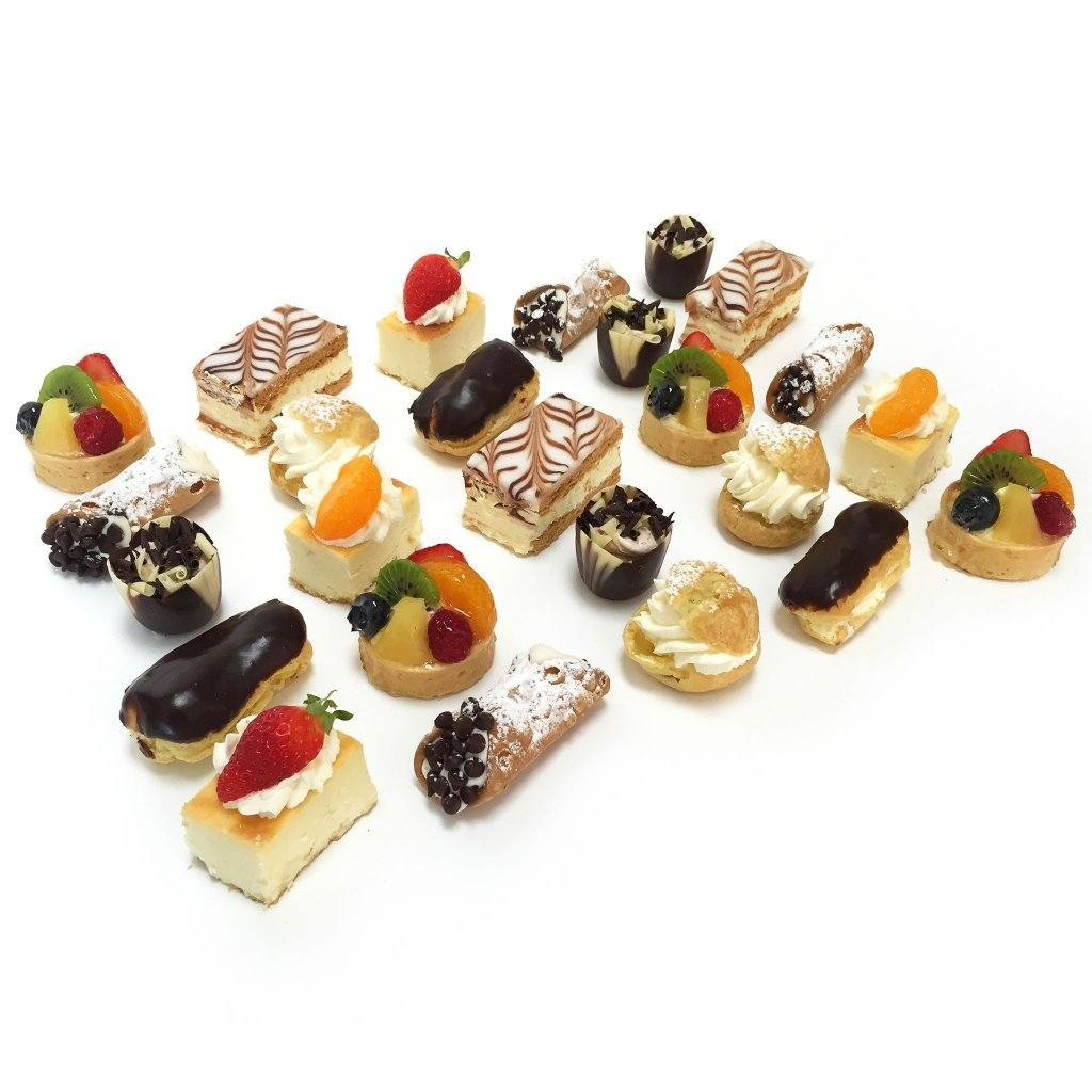 Mini Pastry Assortment Cake Slice & Pastry Freed's Bakery