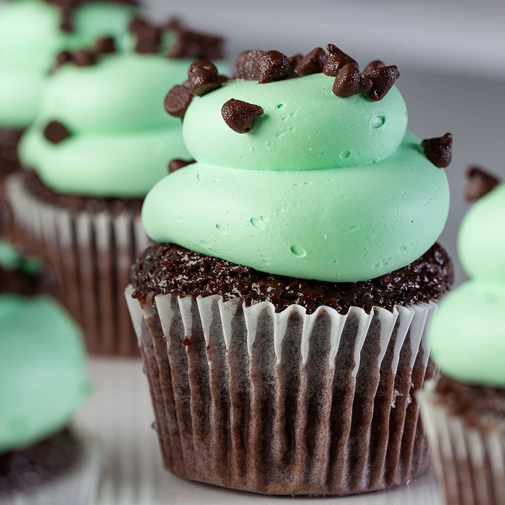 Mint Chocolate Chip Vegas Cupcake Cupcake Freed's Bakery