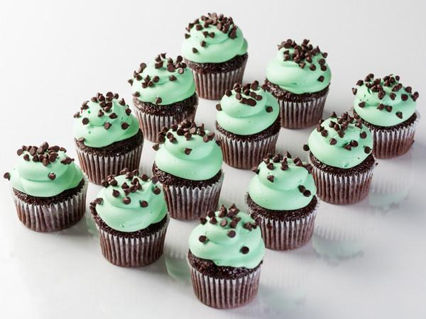 Mint Chocolate Chip Cupcake Cupcake Freed's Bakery
