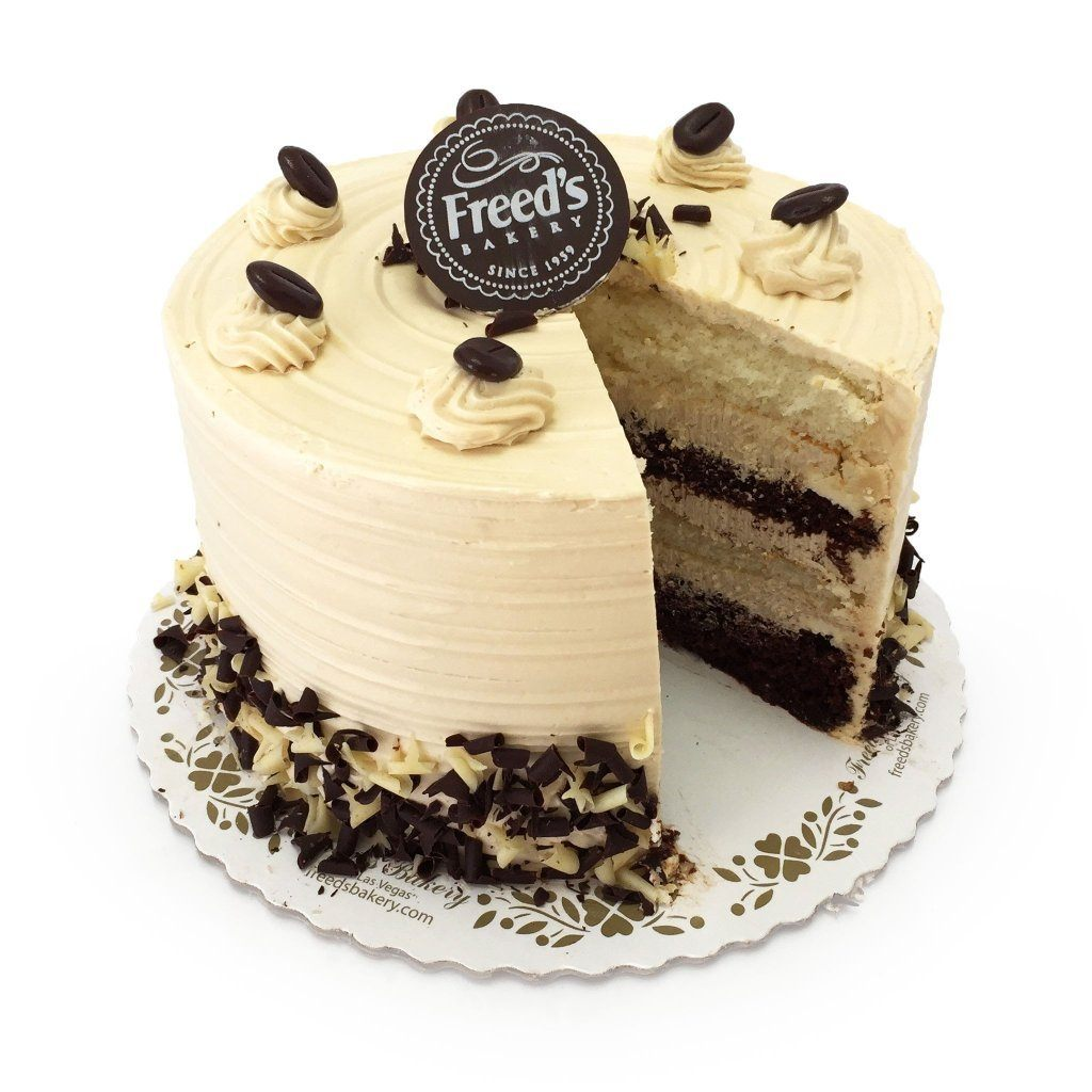 Mocha Cake Cake Freed's Bakery