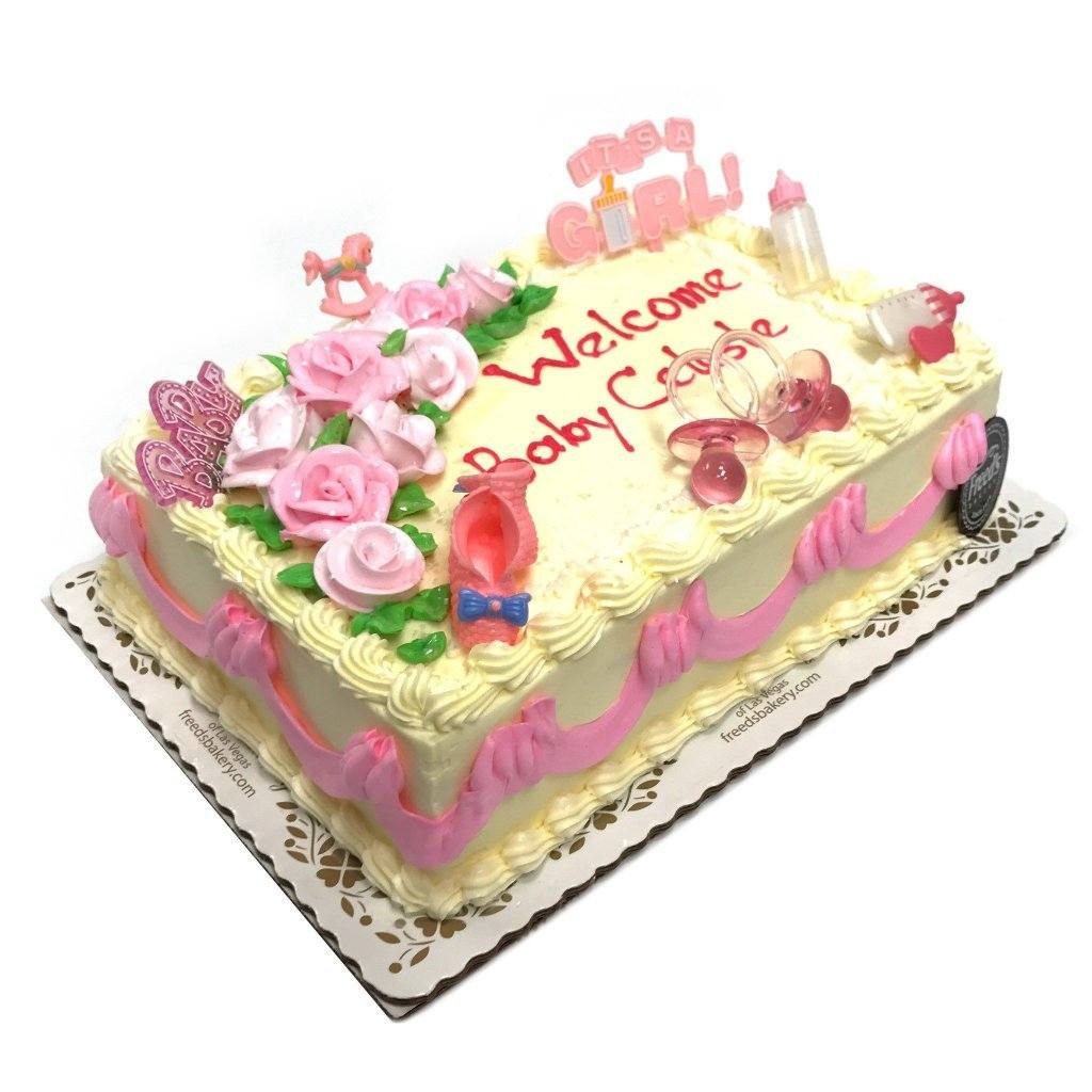 New Arrival Theme Cake Freed's Bakery