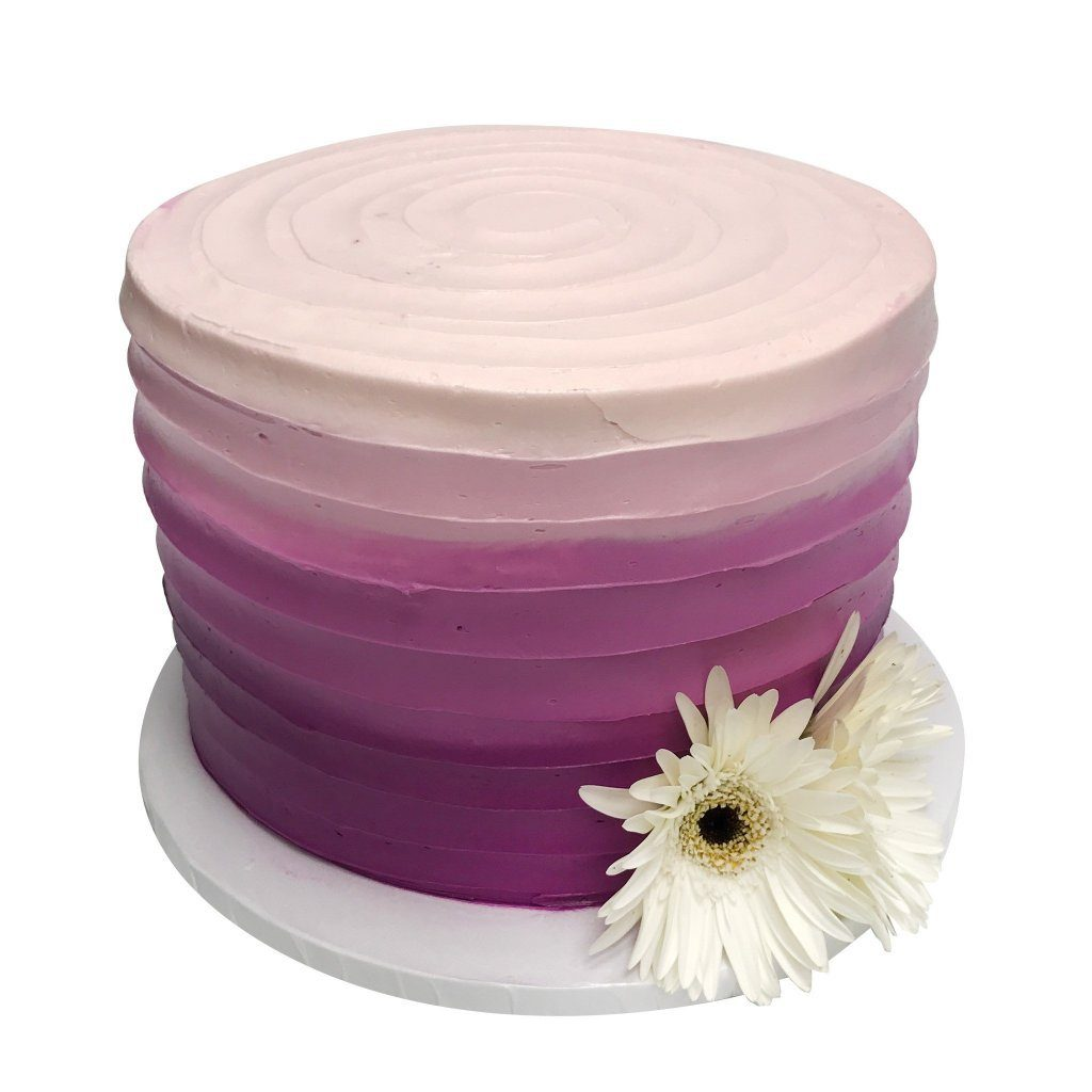 Ombre Daisy Theme Cake Freed's Bakery