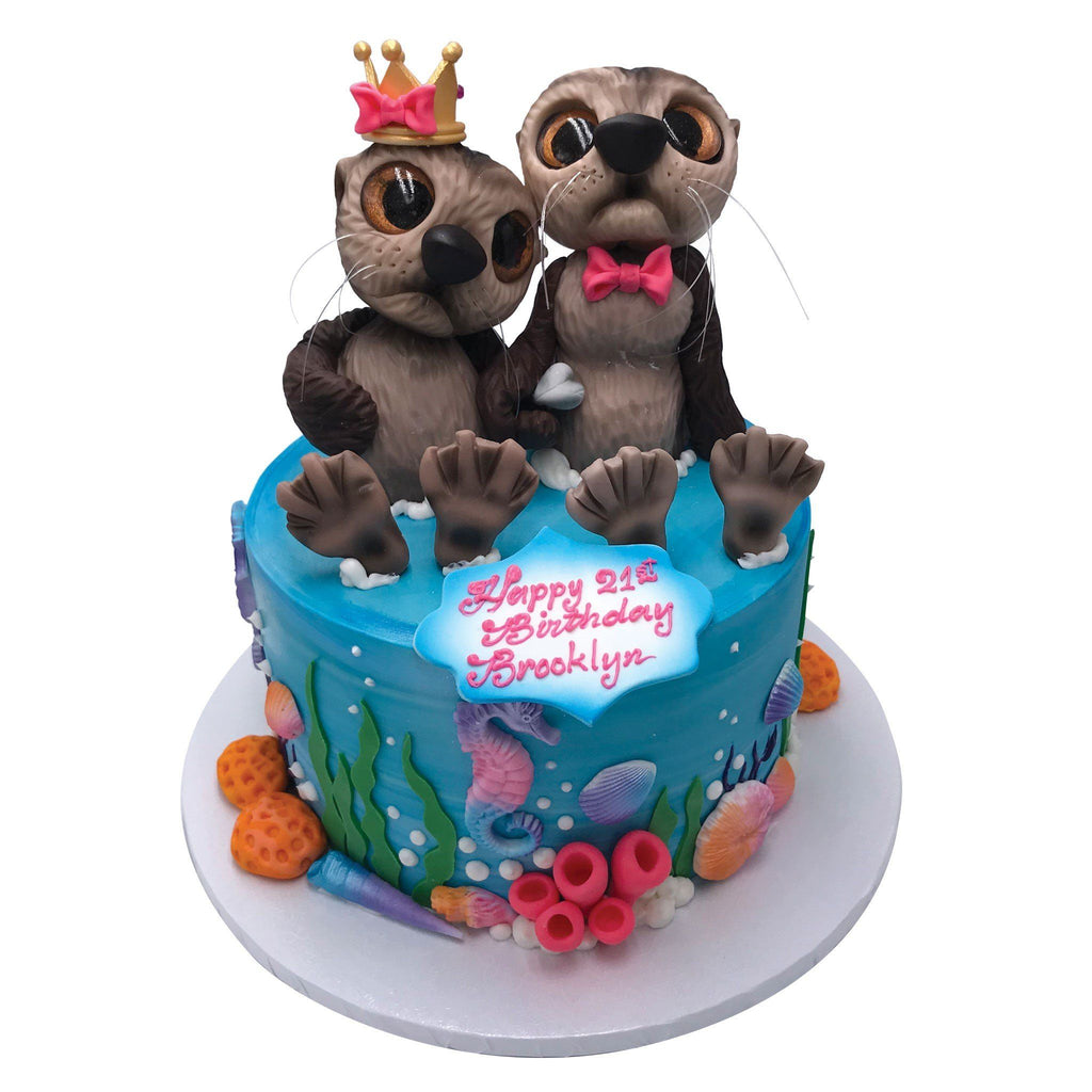 Otter Half Theme Cake Freed's Bakery
