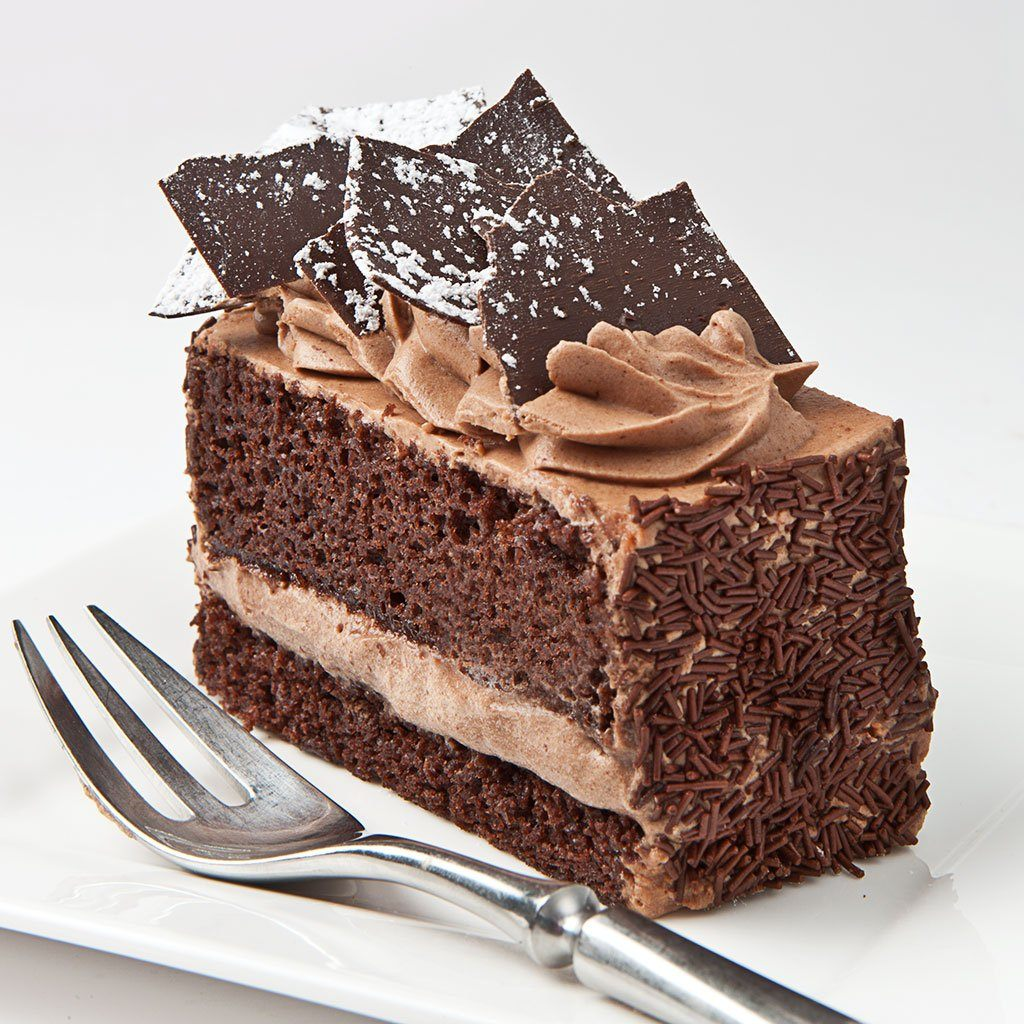 Bestselling Parisian Chocolate Cake Slice Cake Slice & Pastry Freed's Bakery