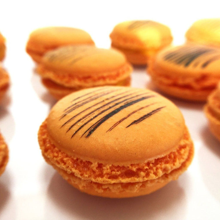 Passion Fruit French Macaron