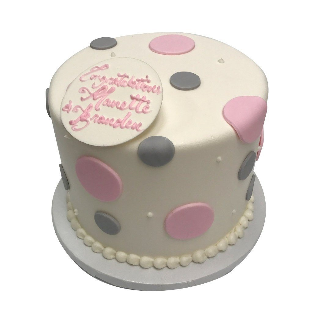 Pastel Dots Cake Freed's Bakery