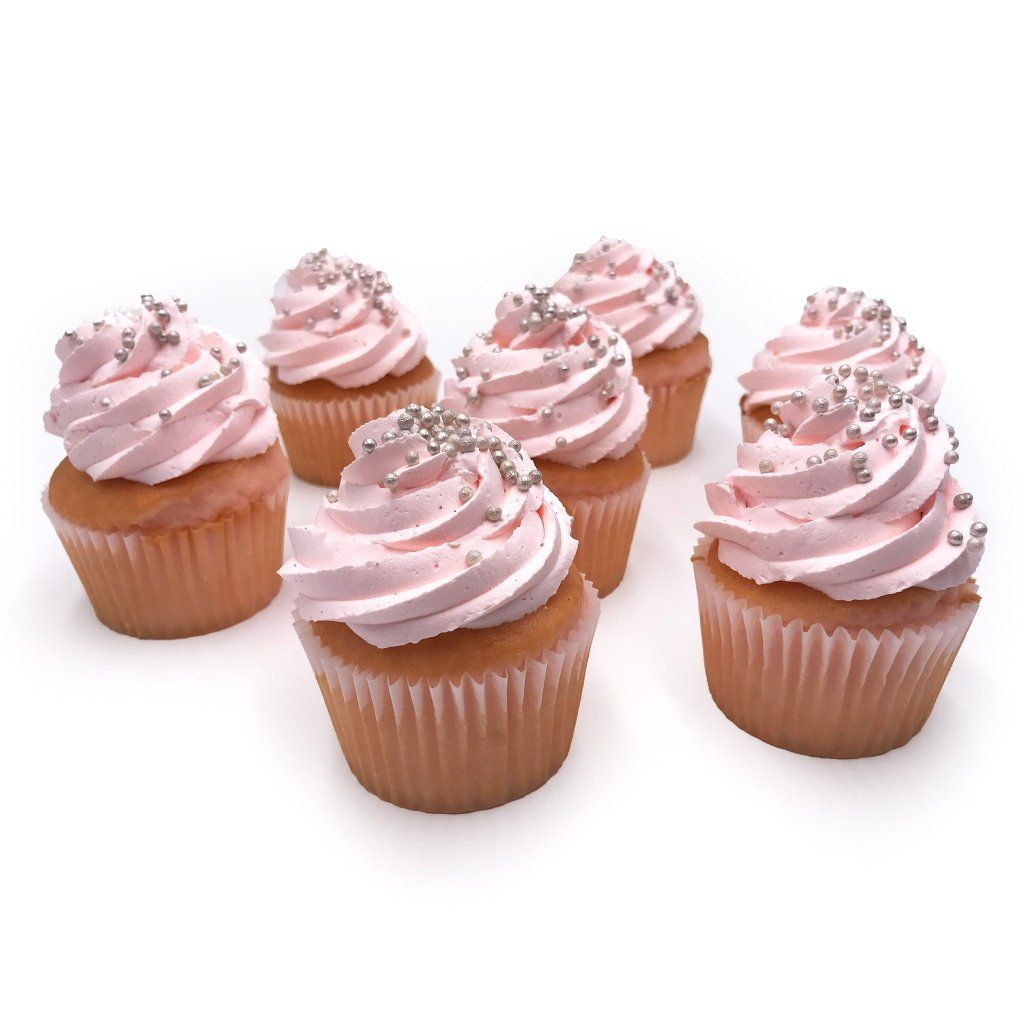 Pink Champagne Cupcakes Cupcake Freed's Bakery