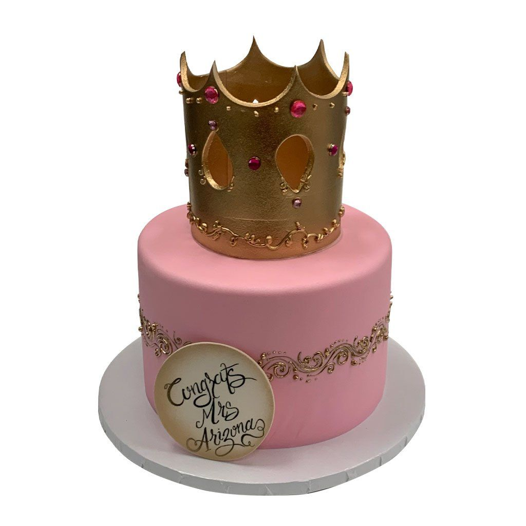 Pink Royalty Theme Cake Freed's Bakery